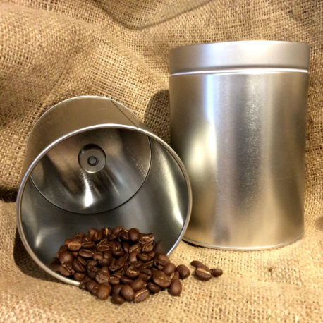 Coffee Canister with De-Gas Valve